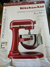 kitchenaid stand mixer 5 qt new
