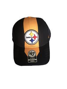 Pittsburgh Steelers NFL '47 Vertical Solo Flex Hat - M/L