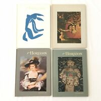 Horizon: A Magazine of the Arts 1970 Vintage Books Lot Of 4 Hardcover