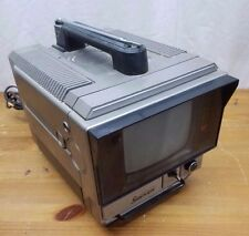 Vintage Portable Sharp Sidekick TV Television Model w/ AC/DC Dry Battery 3S-62