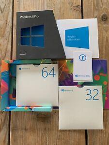 Microsoft Windows 8 Pro Upgrade 32/64 Bit, Deutsch mit MwSt Rechnung