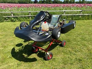 TKM GO KART ROLLING CHASSIS ROTAX X30