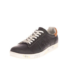 RRP €185 PREMIATA ANDY 3273 Leather Sneakers Size 43 UK 9 US 10 Printed Patched