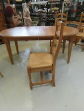 Tisch Stuhl Sitzgruppe Fichte Esstisch Landhaus 6 Stühle Hochlehner Antik Stil
