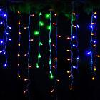 3.5m LED témpano Colgante Cuerda Guirnalda luces Cortina Navidad Fiesta Boda