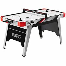 60 Air Hockey Game Table LED Overhead Electronic Scorer Quick Assembly
