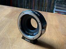 negro tubo soporte 15mm para adaptador Metabones Mount-Rod support Kit