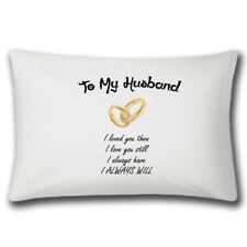 To My Husband Pillow Case | Wedding Gift | Anniversary Gifts | Love | Married