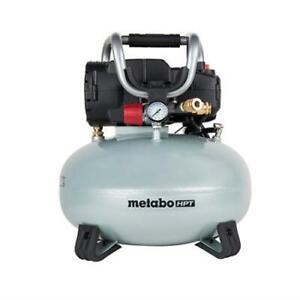 Hitachi/Metabo HPT EC710SM-R Portable 6-Gal Oil-Free Pancake Compressor A-Grade