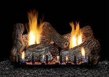"""White Mountain Hearth 18"""" Sassafras Logs Burner Millivolt Valve Ng"""