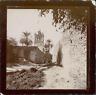 Algérie, Biskra, La Grande Mosquée  Vintage citrate print. Légende au verso de l