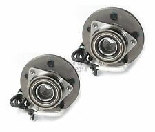 Pair: 2 New DTA Front Wheel Hub & Bearing Assemblies with Warranty 5 stud 515029