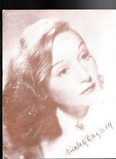 The Two Mrs Carrolls by Elisabeth Bergner Souvenir Program 1950s