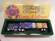 York Fair 2004 Always a Winner Diecast Tractor Trailer Fleer Collectibles MIB