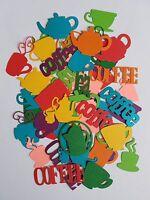 Coffee Pots, Tea Pots, Coffee, Tea Scrap Booking Die Cut Outs Embellishments