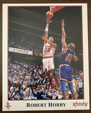 Robert Horry Signed 8X10 Photo Autographed Houston Rockets #25  Fast Shipping
