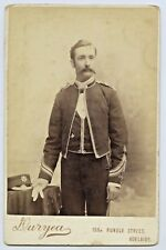 SOUTH AUSTRALIAN MILITIA SOLDIER CABINET PHOTO DURYEA STUDIOS ADELAIDE SA P54