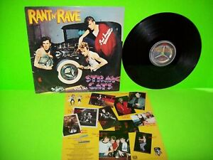 Stray Cats Rant N Rave With The Vinyl LP Record Ed Big Daddy Roth Rockabilly