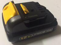 Genuine DEWALT DCB120 12V 12 Volt MAX Lithium-Ion Battery Pack
