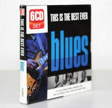 THIS IS THE BEST EVER EVER BLUES [B.B.BKING, M. WATERS] [BOX 6 CD SET 2010] RARO