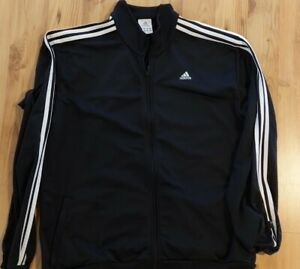 Adidas Trainingsjacke XL schwarz