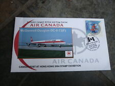 2004 HONG KONG STAMP EXPO COVER, CANADA EXPO PM, AIR CANADA COVER 2