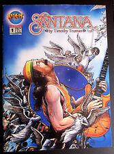 SANTANA #1 Comic Magazine 1994 TIMOTHY TRUMAN Rockit Comix Malibu VF 8.0 Carlos
