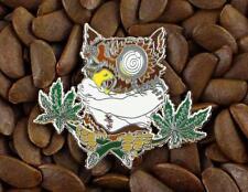 BHO Pins Owl Dab Dabbing 420 710  Pin