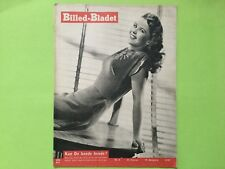 Vintage original Danish magazine: Sexy Shirley Temple on front cover