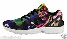 ADIDAS ZX Flux sz 11.5 Multi-Colored Torsion Barcelona Foral City Pack Edition