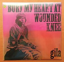 GILA-BURY MY HEART AT WOUNDED KNEE GERMANY REISSUE SEALED KRAUTROCK