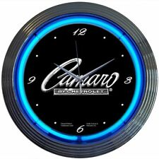 Chevy Camaro Neon Wall Clock Chevy Neonetics