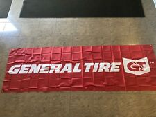 General Tire Banner, 9.75 feet x 3 feet; NEW AND UNUSED