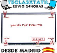 "PANTALLA PARA PORTATIL  Dell Xps 15z-6998 15,6"" HD 1366 X 768 LCD LED  40 PINES"