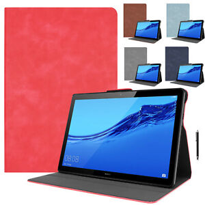 For Huawei MediaPad M5 Lite / T5 10.1 Cover Leather Folio Shockproof Slim Case
