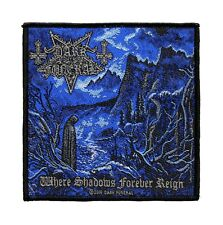 Dark Funeral Where Shadows Forever Reign Woven Sew On Battle Jacket Patch - 094