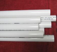 "16ft Central Vacuum Pipe 2"" Pvc in 2 ft sticks 16 feet, 16', 16 ft"