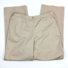 Christopher Banks by Alfred Dunner Beige Pull On Pants Proportioned Short Sz 18