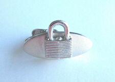 Vintage Silver Tone Master Lock Co Tie Bar Clasp *