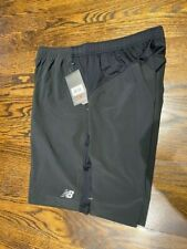 NWT New Balance men's black 9 inch rally shorts size L