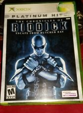 No Game-Xbox The Chronicles Of Riddick -Game Case & Manual Only -No Game Ex Ph