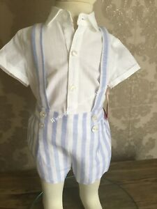 Spanish baby Boys Outfit set 6-12-18-24-36 months  Spanish Romany new