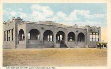 Albuquerque New Mexico~Spanish Style Country Club~Open Air Porch~Car~1916 Pc