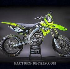Suzuki Fluo RMZ RM 125 250 450 Graphics Decals any year 1990-present