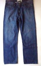 Mens Hilfiger Brand Denim Jeans Freedom Relaxed 38 x 32