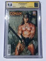 Conan the Barbarian #1 CGC 9.8 SS Signed by Arnold Schwarzenegger - Marvel 2019