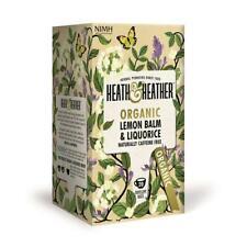 💚 Heath & Heather bio mélisse & Réglisse Infusion 20 bags