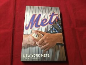 2017 New York Mets Baseball Media Guide MINT