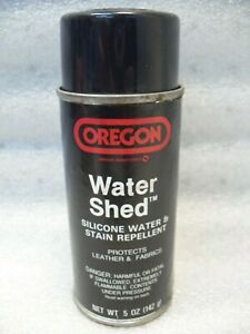 Oregon Water Shed Silicone Water & Stain Repellent For Leather And Fabrics