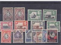 DB318) Kenya, Uganda & Tanganyika 1938-54 KGVI range of lower values to 1/-